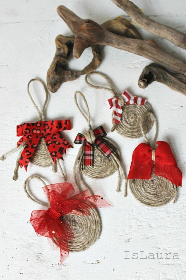 Oltre 25 fantastiche idee su decorazioni natalizie fai da - Decorazioni natalizie legno fai da te ...