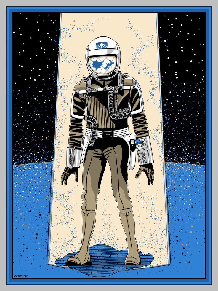 Vintage Last Starfighter poster from Mondo