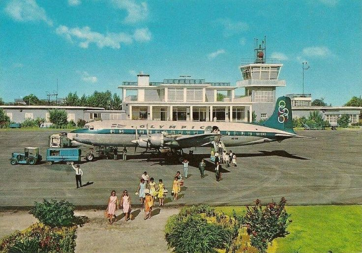 Corfu Airport - Corfu - Greece, 1970!