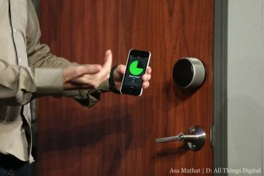 "With August, Yves Behar brings fine design to a ""smart"" door lock"