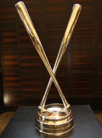 mlb home run derby trophy goes to Cano again  Sports  Basketball leagues Sports awards