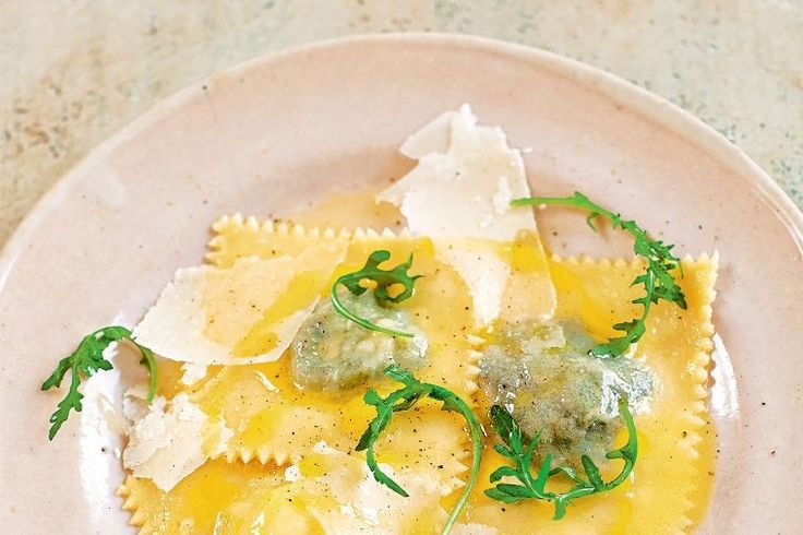 What's better than having ravioli for dinner? Having it three ways, of course. From chat potato, spinach and ricotta to rocket and dandelion fillings, there's something for every pasta lover.
