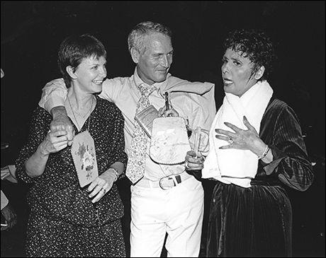 Joanne Woodward, Paul Newman and Lena Horne