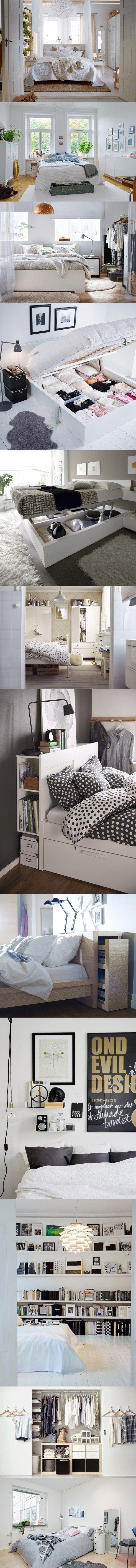 Ideas para ganar espacio en el dormitorio / http://decoracion.facilisimo.com/