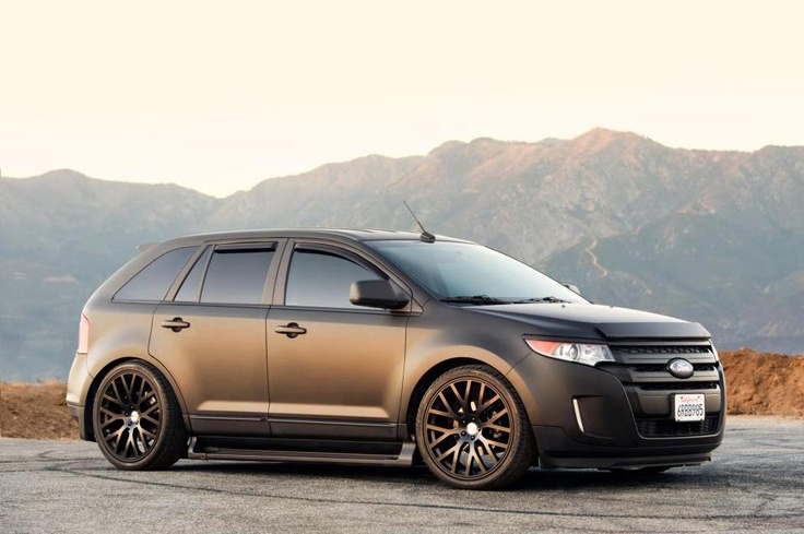 matte black ford edge