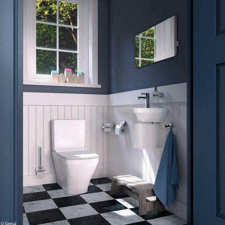 info over badkamers staand toilet geesa