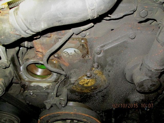 D Af B Ca D B on Dodge Ram Water Pump Replacement