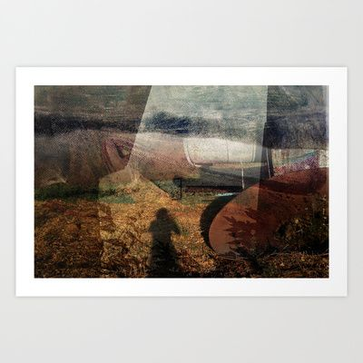 Zone Art Print by Zsofi Porkolab