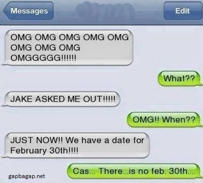 Funny Text About Date