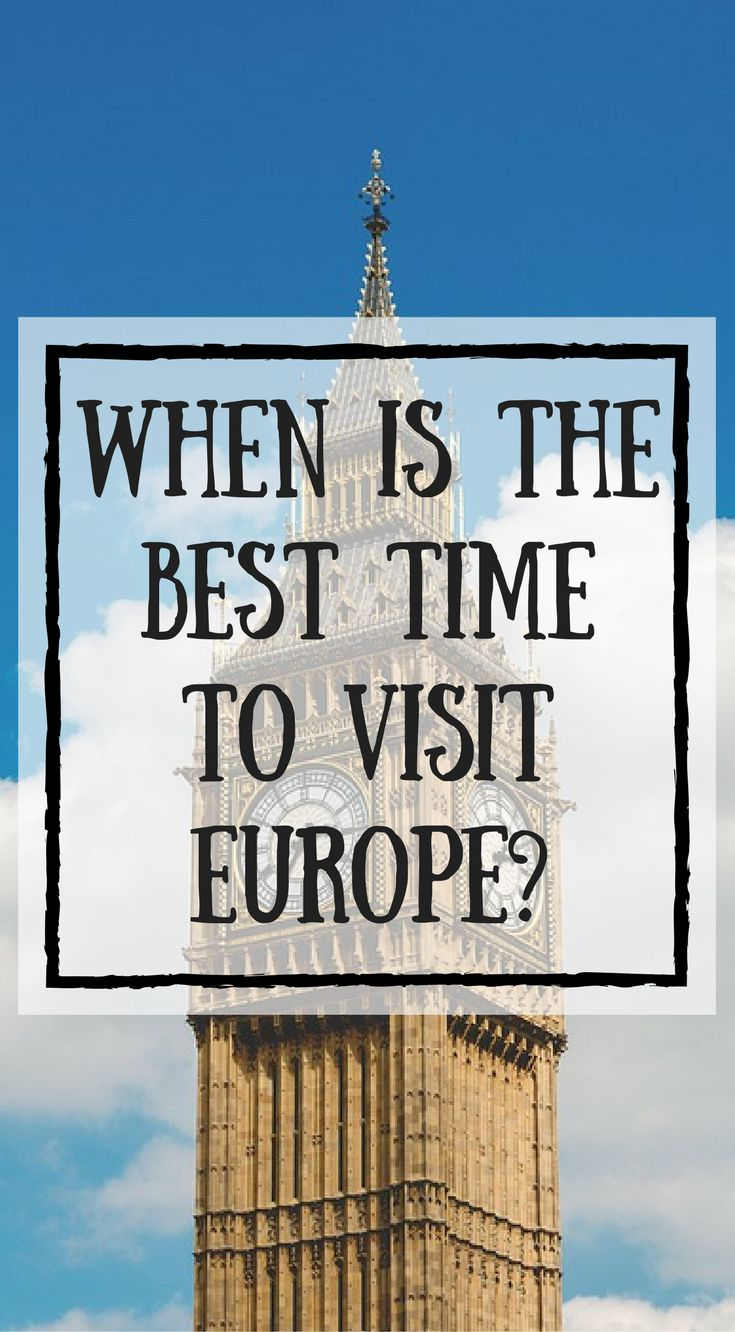 When is the best time to visit Europe?After spending our summer traveling in Europe, between Lina and I, we have visited Europe during all of the seasons. The best time to visit Europe really depends on the season and your personal preference. Collectively, we've visited Europe 6 times and have spent time in 16 European countries. Click to read more at https://www.divergenttravelers.com/best-time-to-visit-europe/