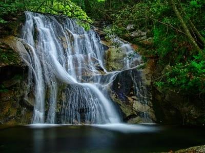 Mesoropi falls, Kavala, Greece