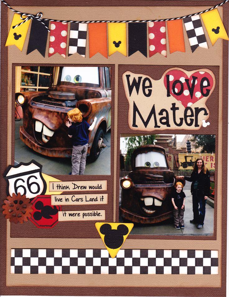 We Love Mater - Scrapbook.com