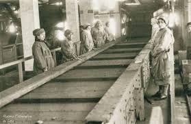 Lota, Chile: Inauguración de la planta de Harneros (donde se limpiaba y clasificaba el carbón)