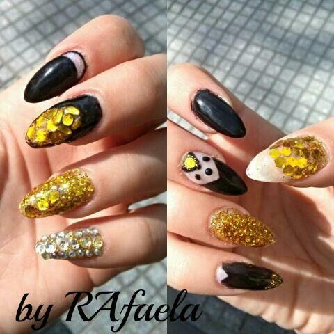 Golnen nails #salonderaf