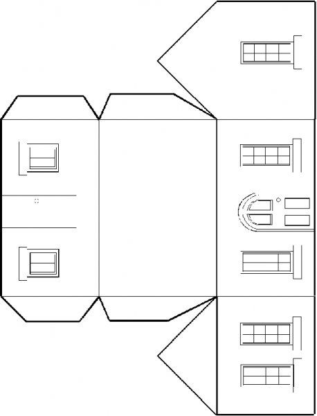 587 Best Paper Houses Images On Pinterest | Paper Houses, Putz