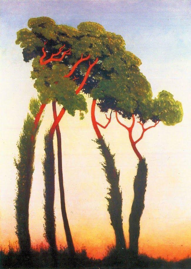 Felix Vallotton「Five Trees」
