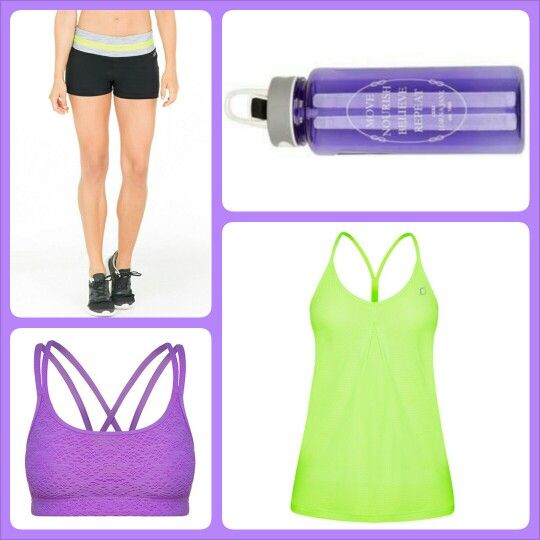 Pretty in Purple & Lime #ljwishlist  @Lorna Jane
