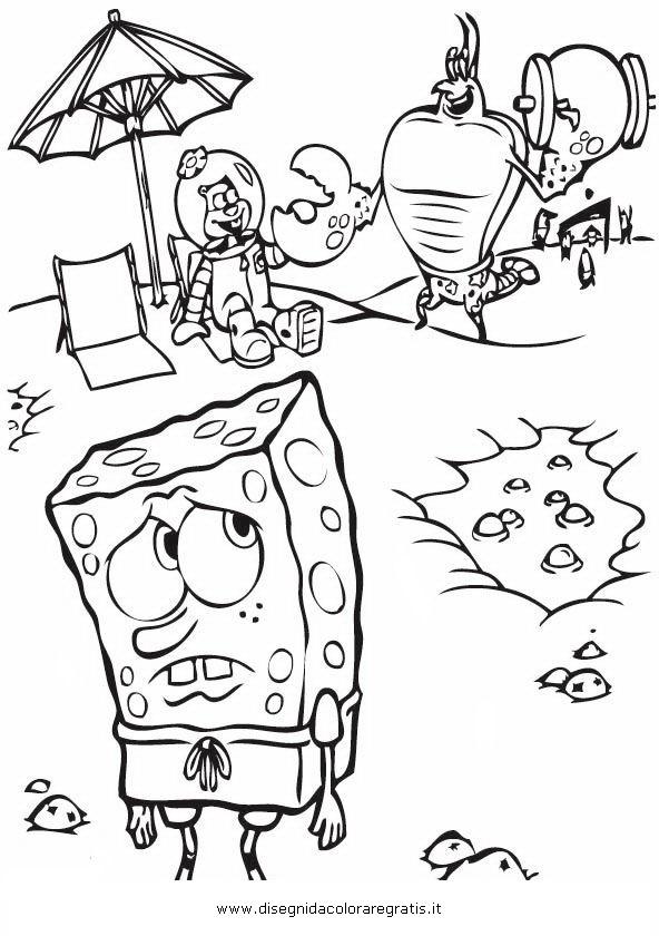 17 best images about spongebob disegni da colorare on for Disegni spongebob