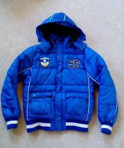 Jacke-Jungen-176-Winterjacke-gebraucht-blau