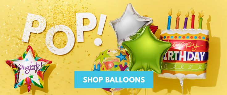 Moonpig Balloons Delivered | Send Helium Party & Birthday Balloons