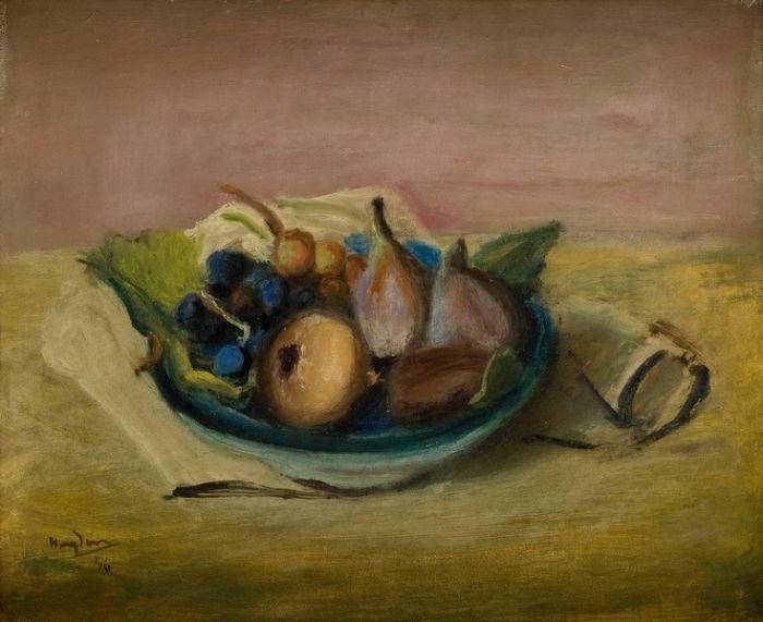 Henryk Hayden - Martwa natura z owocami, 1946 r.