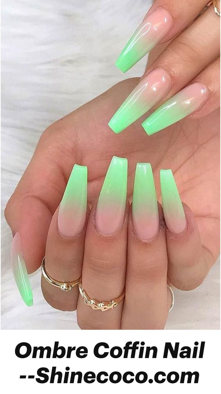 Acrylic Nail Designs Coffin, Classy Acrylic Nails, Bling Acrylic Nails, Edgy Nails, Acrylic Nails Coffin Short, Square Acrylic Nails, Coffin Shape Nails, Best Acrylic Nails, Simple Acrylic Nail Ideas