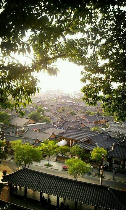 from ohmokdae _ Jeonju Hanok Village