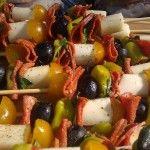 Recipes- Antipasto Kabobs