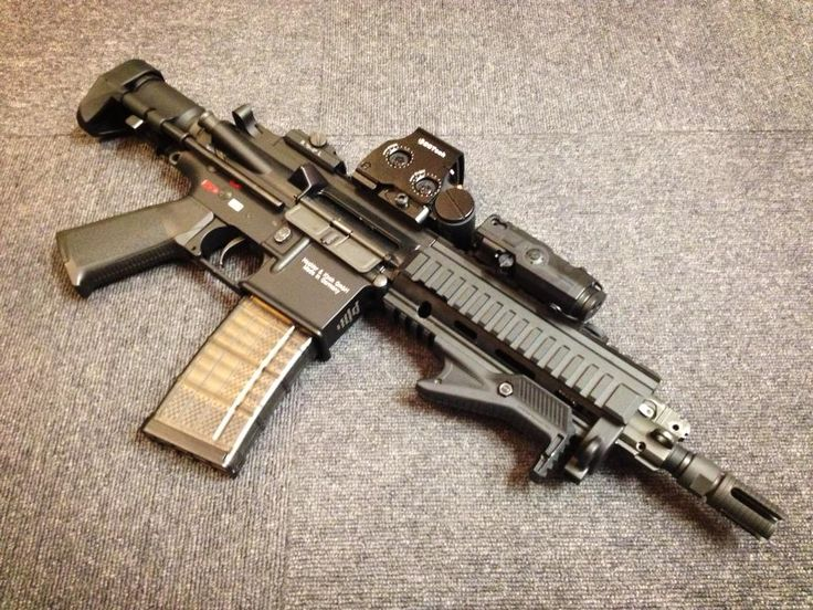 Team Blackwind:HK416C Setup