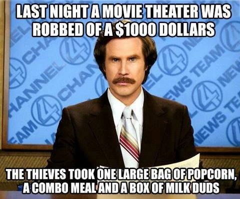 Theater heist