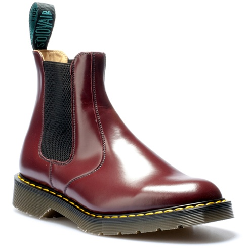 Solovair / Dealer boot 900 / Product ref: 0-900 / UK Sizes: 2-16 / FSC = Fashion Steel Cap. Not certified for safety footwear
