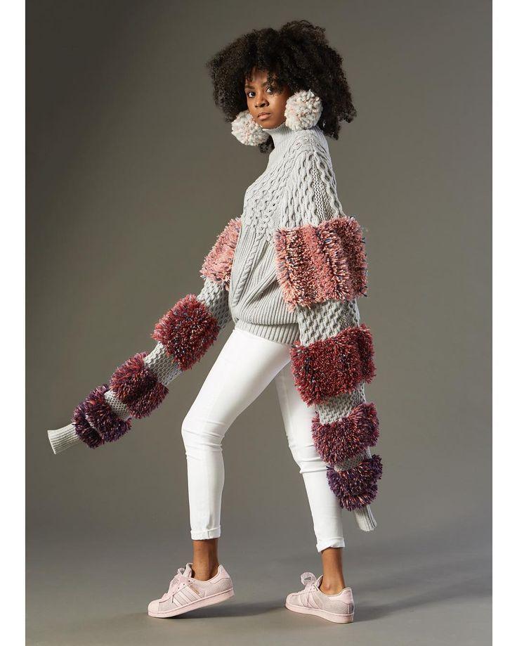 Designer: Me! Marion Kunz @marmarthemallomar Model: @lishacharlz . . . . . #knit #knittersofinstagram #knitting #knittingaddict #knitwear #couture #elegant #elegance #honeycomb #cablestitch #zegnabaruffa #zegnabaruffawool #zegnabaruffayarn #wool #lionbrand #lionbrandyarn #rococo #marieantoinette #fragonard #fashion #fashionlove #fashionblogger #fashions #fashionicon #fashionart #photography #rughooking #infiniteyarns #stoll #handmade #sweater