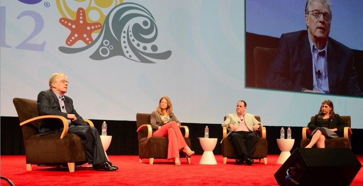 Sir Ken Robinson Moderates Rousing Keynote Panel at ISTE 2012 | ISTE Connects Blog