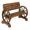 """Amazon.com: Steam Bent Hickory Wood Western Wagon Wheel for Home and Garden Decor 30"""" X 1"""". Handcrafted By Old Order Amish Wheel Makers. These Country Collectible Wheels Can Be Used on Small Carts or Wagons with a Weight Bearing Capacity of 500 Lbs. They Are Perfect As Home and Garden Country Landscape Decor. Just the Right Size for Indoor or Outdoor Use. Authentic Wagon Wheel That Makes a Unique and Rustic Statement. Makes a Stunning Wagon Wheel Chandelier.: Everything Else"""