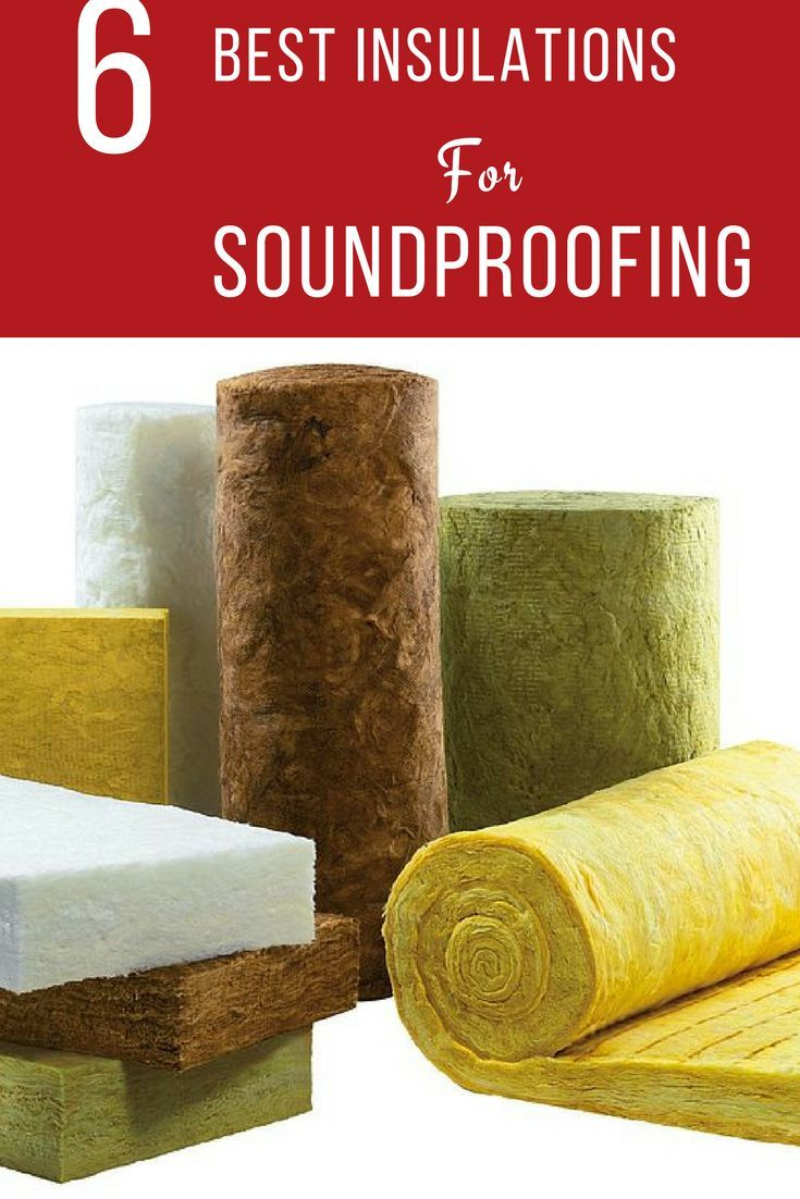 Best Insulation Materials For Soundproofing And Acoustics Sound Proofing Soundproofing Material Studio Soundproofing