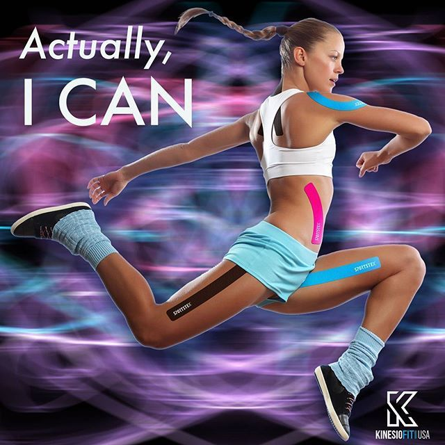 No matter what anyone says, never give up!  #ican #nevergiveup #icandoit #inspiration #kinesiofitusa #sportstape #fitness #fitlife #workout #weighttraining #runforlife #tapeup #positivevibes #keepgoing #workoutgang #gainz #icandothis