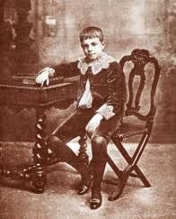 Infante (prince) D. Manuel, Duke of Beja c.1901, age of 12. Due to the murder of his father and brother he will become in 1908 the Future King D. Manuel II of Portugal and Algarves