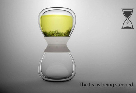 COOL DESIGN: The Tea-Timer Tea Steeper (7 Pics) | Daily Dawdle