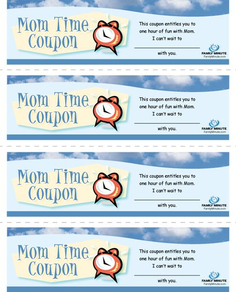 First time mom coupons