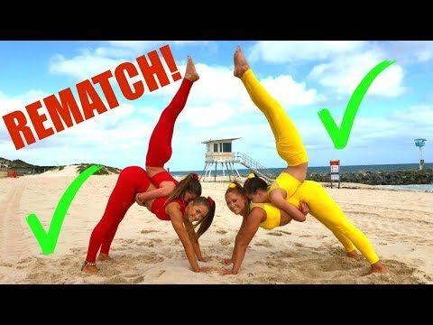 the rybka twins  youtube  yoga challenge yoga challenge