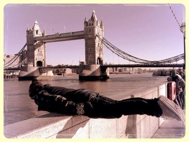 Planking Bridge is falling down plank