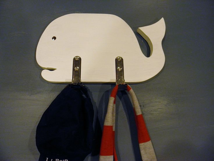 A personal favorite from my Etsy shop https://www.etsy.com/listing/473648574/wood-whale-coat-rack-ready-to-hang-2