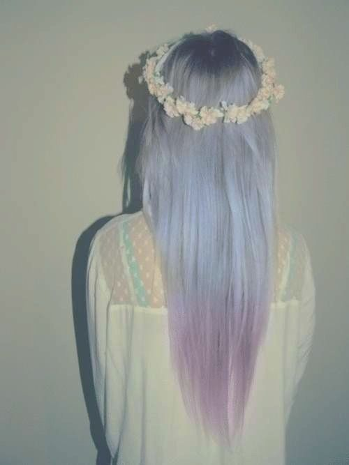 Lavender to pink