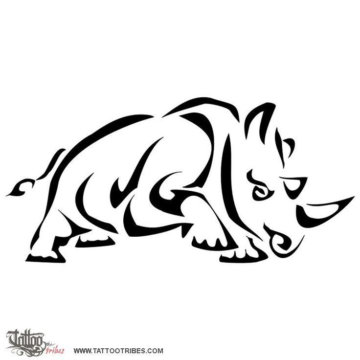 Rinoceronte stilizzato