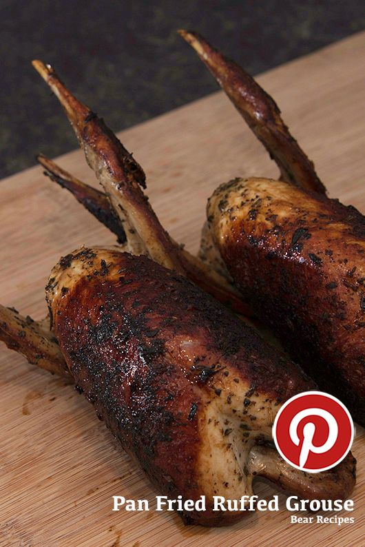 Pan Fried Ruffed Grouse Recipe #cooking #wild #wildgame #ruffed #grouse #chicken #fried #wholebird