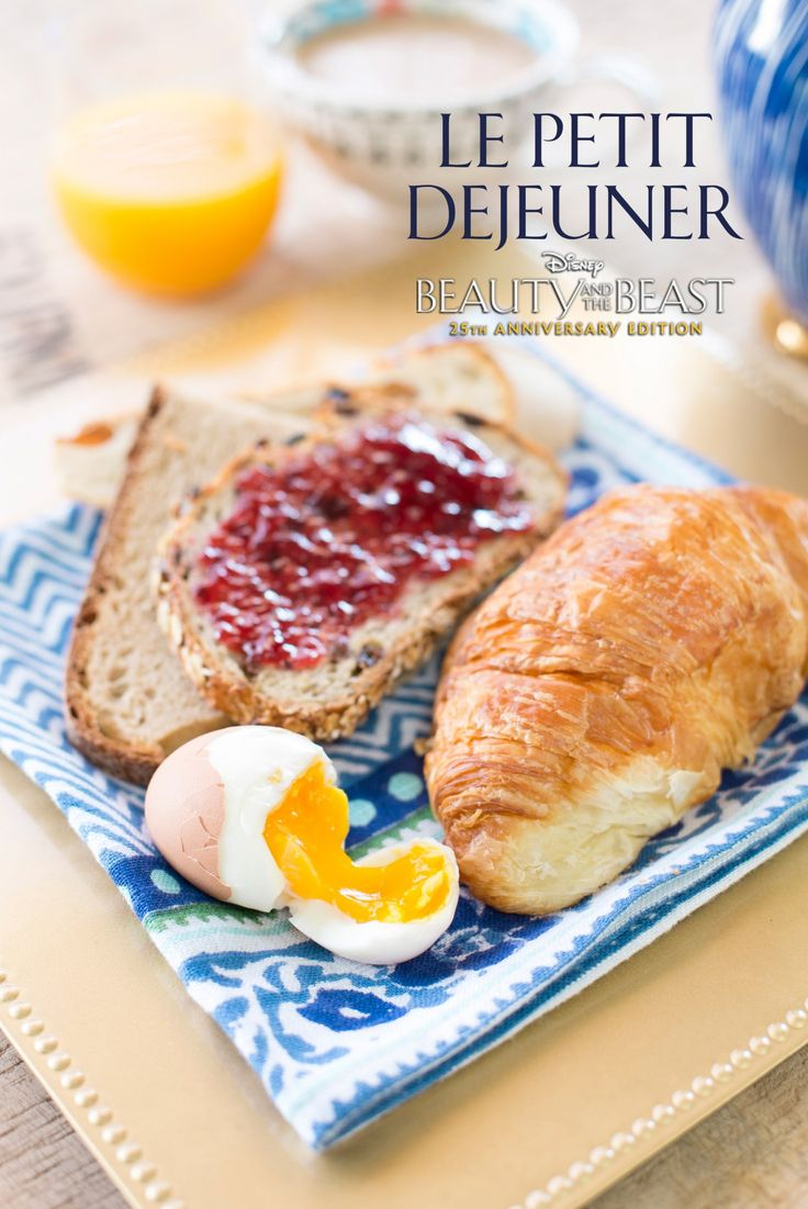 Best 25 traditional french recipes ideas on pinterest start your day with a traditional french breakfast inspired by disneys beauty and the beast forumfinder Images