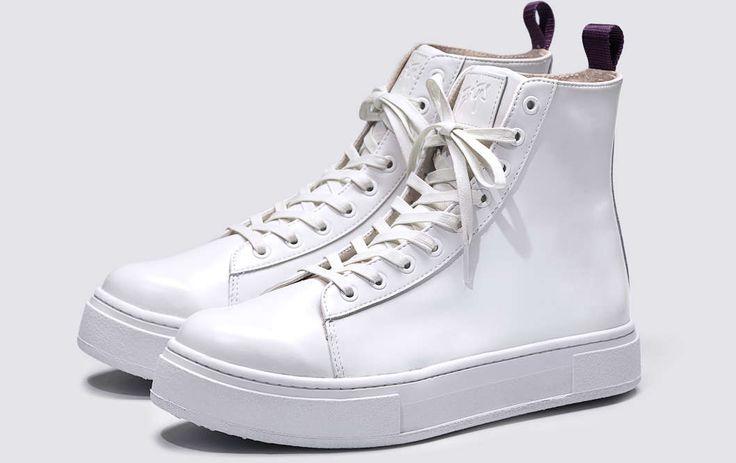 #Eytys Kibo Leather White.