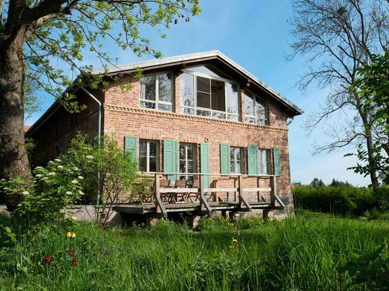 Great Vakantiehuis personen met Steinway en sauna in Duitslands