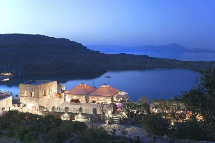 Melenos Lindos Hotel - Greece Enviably located on...   Luxury Accommodations