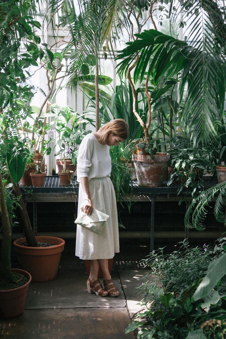 Botanical Gardens at Smith College | photography Greg Wasserstrom, styling Emily Theobald, model Ali Breslin, art director Liz Hull